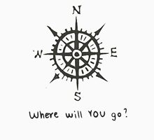 Compas - Travel - Where will you go? Unisex T-Shirt