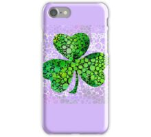 Shamrock Art by Sharon Cummings iPhone Case/Skin