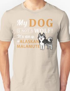 Alaskan Malamute Unisex T-Shirt