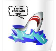 Shark Feelings Poster