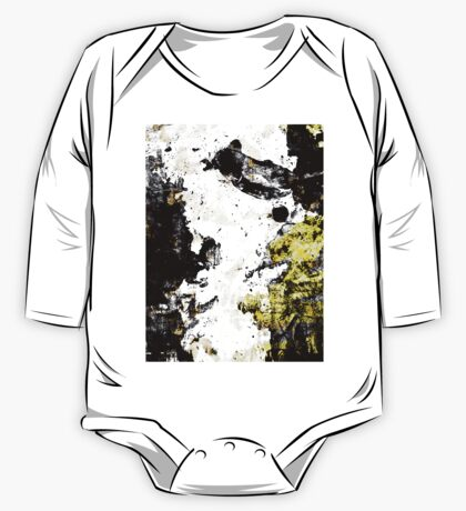 Abstract Calligraphy One Piece - Long Sleeve