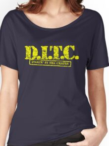 DITC crew replica Rawkus tshirt - Diggin in the crates late 90s Women's Relaxed Fit T-Shirt