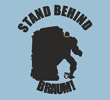 Stand Behind the Moustache! Unisex T-Shirt