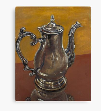 Still Life- Tea Pot Canvas Print