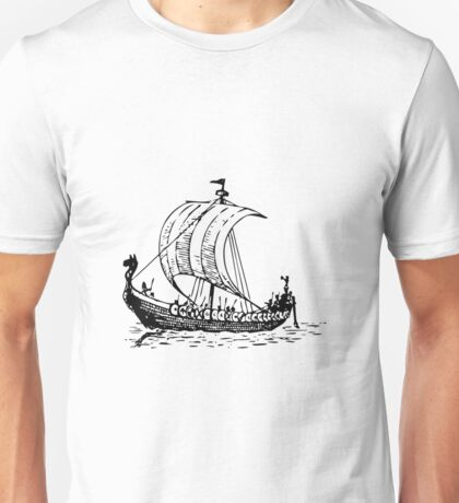 Viking Ship Unisex T-Shirt
