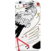 Secretarybird, Sagittarius serpentarius  iPhone Case/Skin