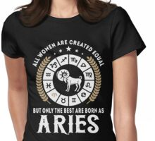 Aries Women Womens Fitted T-Shirt