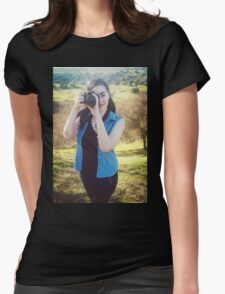 Phantasmagorical Arts Photography Womens Fitted T-Shirt
