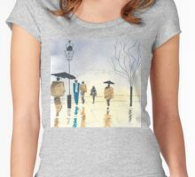 Street Scene Women's Fitted Scoop T-Shirt