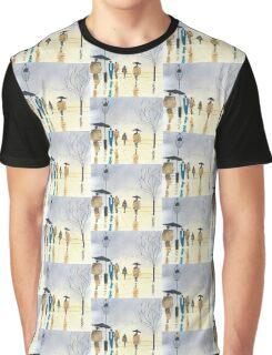 Street Scene Graphic T-Shirt