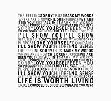 Justin Bieber Lyrics Classic T-Shirt