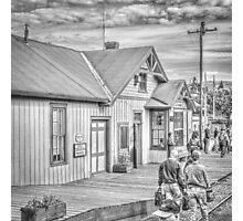 Chama Station Photographic Print