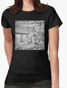 Chama Station Womens Fitted T-Shirt