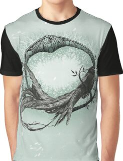 Long Tailed Widow Bird Graphic T-Shirt