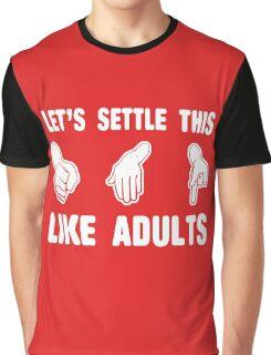 Rock Paper Scissors Graphic T-Shirt