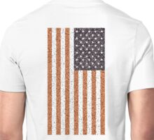 American, Stars & Stripes, Flag, Portrait CRUSTY, RUSTY Unisex T-Shirt