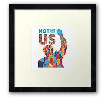 Bernie Sanders US Framed Print