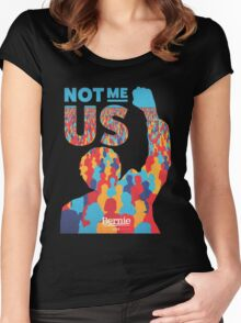 Bernie Sanders US Women's Fitted Scoop T-Shirt