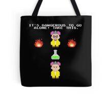Breaking Zelda Tote Bag