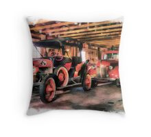 New Glarus Fire Apparatus Throw Pillow
