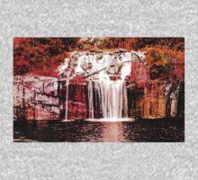 Green Lake Waterfall One Piece - Short Sleeve