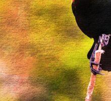 Red-winged Blackbird Sticker