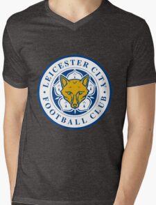 leicester city Mens V-Neck T-Shirt
