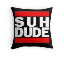 Suh Dude - Run DMC Logo Throw Pillow