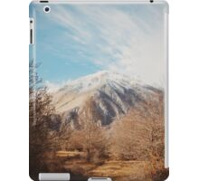 Mountains in the background XVI iPad Case/Skin