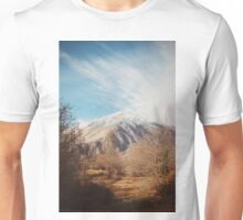 Mountains in the background XVI Unisex T-Shirt