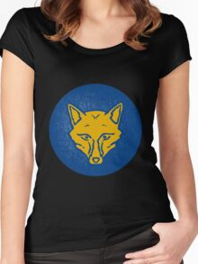 leicester city Logo HD Women's Fitted Scoop T-Shirt