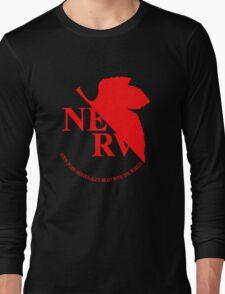 Neon Genesis Evangelion - NERV Logo Long Sleeve T-Shirt