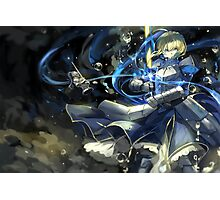 Saber Fate Photographic Print