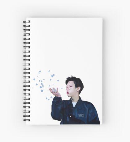 Chanyeol exoluxion2 Spiral Notebook