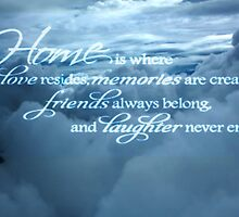 Home is... by Darlene Lankford Honeycutt