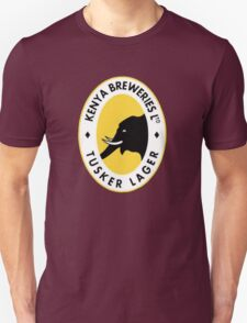 Tusker Beer Kenya Unisex T-Shirt