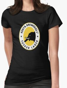 Tusker Beer Kenya Womens Fitted T-Shirt