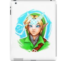 HEY LISTEN! iPad Case/Skin