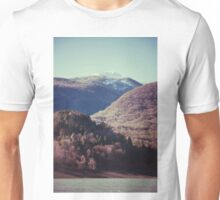 Mountains in the background XIV Unisex T-Shirt