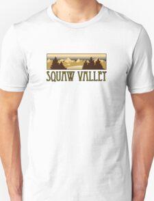 squaw valley ski resort truck stop novelty tee T-Shirt