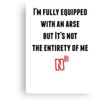NerdCubed Quote Canvas Print