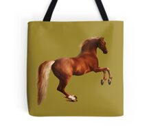 Rearing Arabian Thoroughbred Tote Bag