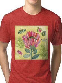 Protea Tropicana Tri-blend T-Shirt
