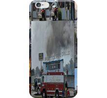 Newport Oregon Fire Department Drill - Practice Fire Drills iPhone Case/Skin