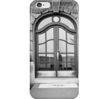 1980's Chicago Door iPhone Case/Skin