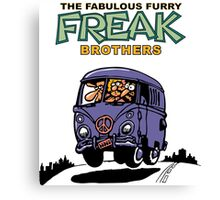 Fabulous Furry Freak Brothers Bus! Canvas Print