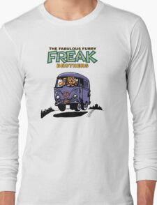 Fabulous Furry Freak Brothers Bus! Long Sleeve T-Shirt
