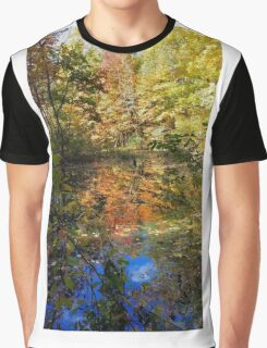 Fall Trees Graphic T-Shirt