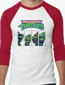 Ninja Turtles - Player select - NES Men's Baseball ¾ T-Shirt