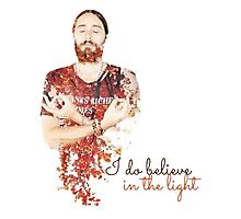 Believe in the light Photographic Print